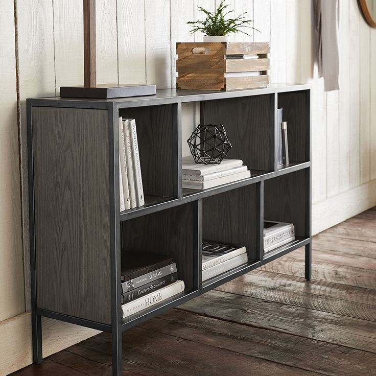 Wood-Like and Metal Media Console
