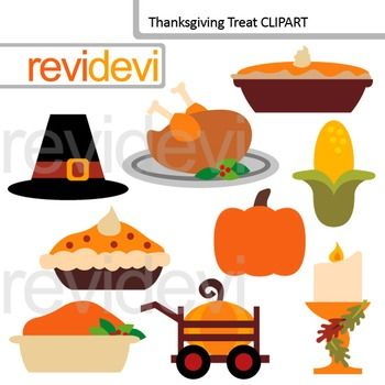 Thanksgiving clip art featuring turkey, pies, pumpkin, corn, and more fun graphics. Thanksgiving treat clipart set includes 9 digital images.Clip art set for teachers and educators. Great resource for any school and classroom projects such as for creating bulletin board, printable, worksheet, classroom decor, craft materials, activities and games, and for more educational and fun projects.You will receive:- Each clipart saved separately in PNG format, 300 dpi with transparent background…