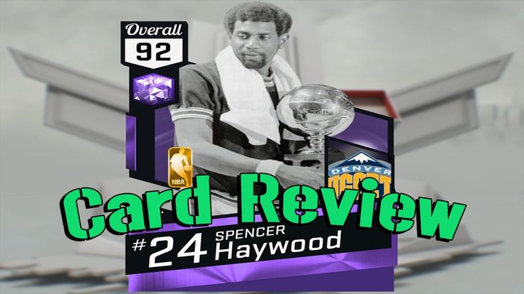 스펜서 헤이우드 카드리뷰 NBA2K17 MyTEAM PS4 Pro Spencer Haywood Card Review   @ [패니...