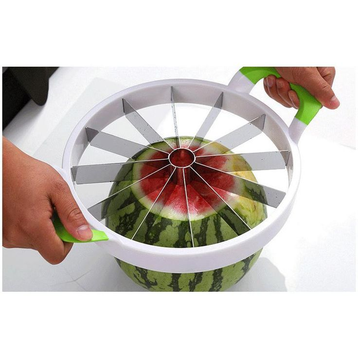 Kitchen Practical Tools Creative Watermelon Slicer Melon Cutter Knife 410 stainless steel Fruit Cutting Slicer whitout box | @giftryapp