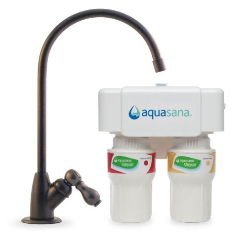 Best Kitchen Faucet | Aquasana AQ520062 2Stage Under Sink Water Filter System with Oil Rubbed Bronze Faucet ** You can get more details by clicking on the image. Note:It is Affiliate Link to Amazon.