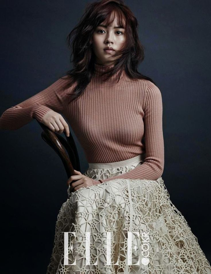 Kim So-Hyun 김소현 엘르 2014-10 화보 Skirt _ POST DECEMBER _ Lazer cutting