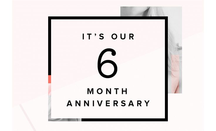 Six Year Wedding Anniversary Gift Ideas: 17 Best Ideas About 6 Month Anniversary On Pinterest