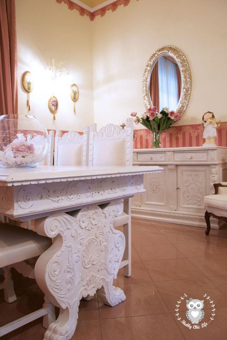 Arredamento shabby chic con la vernice chalk paint Decora Facile colore Avorio Vintage www.shabbychiclife.it