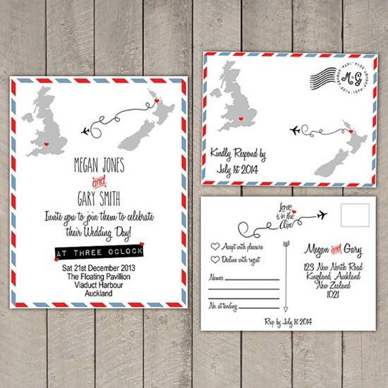Partecipazioni tema viaggio cartolina. Wedding invitations travel theme. #wedding #wedding invitations