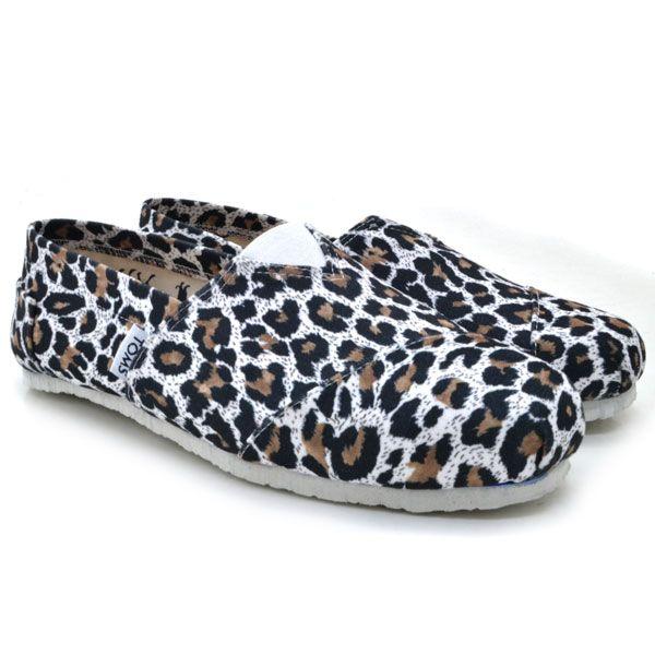 Toms Siyah Leopar Ayakkabı | BAYAN AYAKKABI | Günlük | | Nelazimsa.net