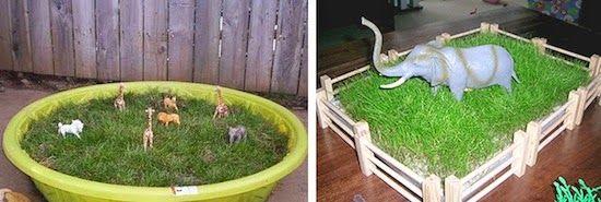 А также пластиковые животные, с которыми одинаково интересно играть как дома, так и на улице. Для дома можно даже специально засеять небольшое поле) - See more at: http://www.kokokokids.ru/2014/04/backyard-and-garden-ideas-for-kids_29.html#sthash.ISRl0u59.dpuf