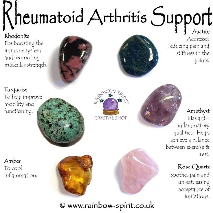 Rheumatoid arthritis support | Crystal therapy healing ...