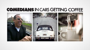 I've been watching this on #Crackle lately - Comedians In Cars Getting Coffee #seinfeld