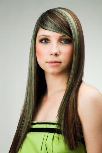 Grønt hår!