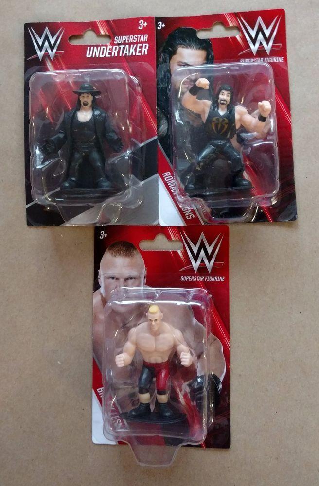 2016 WWE Superstar Action Figure Set | Undertaker, Brock Lesnar & Roman Reigns #BeverlyHillsTeddyBear