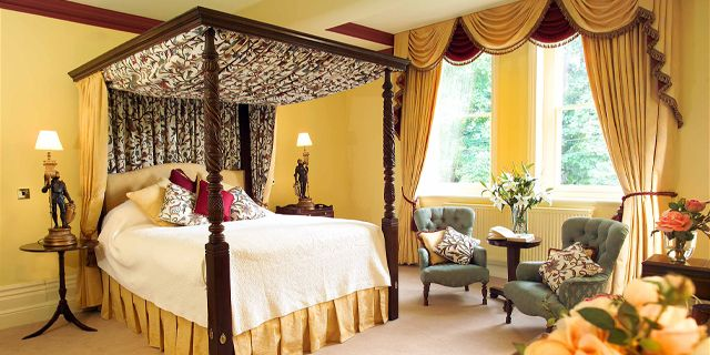 Check out Gliffaes Country House ,Powys, Wales. With #stunning #views and  #modern #comforts, enjoy a #relaxing stay.  Visit: http://bit.ly/1SJSDJ4  #charming #small #hotels #charmingtravel #hotelstay #rooms #travel #trips #wales #countryhouse #countrysideviews #roomdecor #roomdecoration #roomdesign #designinspo #designinspiration #design