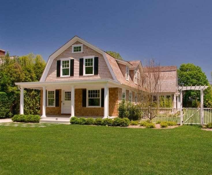 20 Interesting Delightful Gambrel Roof Ideas For 2019 Barn Style House Gambrel Style Gambrel Roof