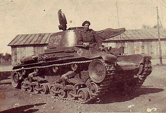 Romanian tank ww2 - pin by Paolo Marzioli