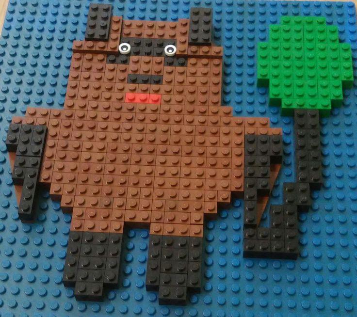 Мозаика LEGO. Винни Пух, автор Марк Литвин, 9 лет.