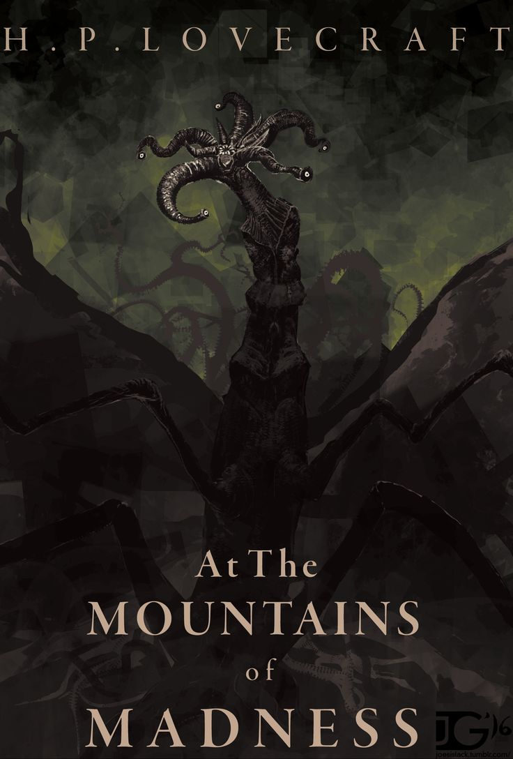 ArtStation - At The Mountains Of Madness Book Cover, Joe Grabenstetter