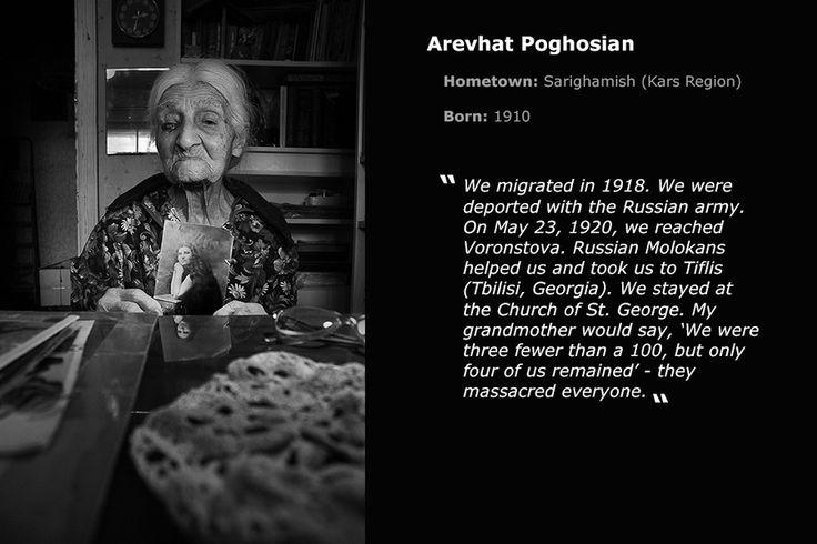Arevhat Poghosian Armenia: Survivors of the Great Catastrophe Nazik Armanakyan