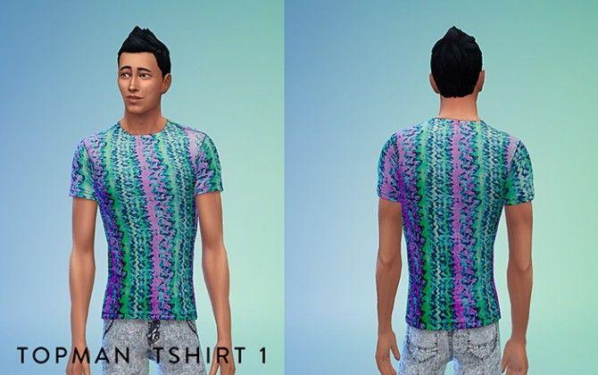 Topman Tshirt Set at Sims 4 Sweetshop • Sims 4 Updates