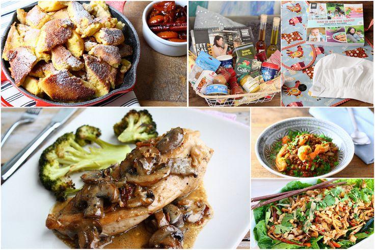 Het 100ste weekmenu alweer! Met deze keer: Thaise kipsalade, risotto met mosterd, kaiserschmarrn, linzenstoof en een MEGA winactie! // Francesca