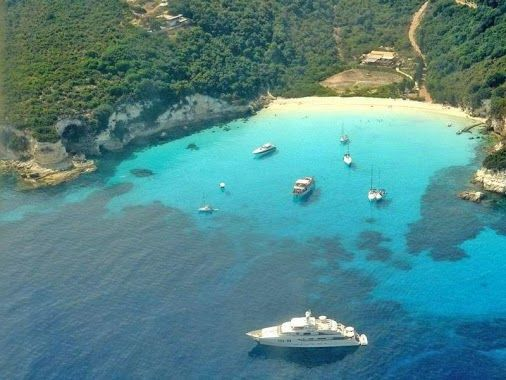 Andrikos Studios - Lakka Paxos Greece - Google+ - Antipaxos, a small island just 5 minutes by boat from Paxos…