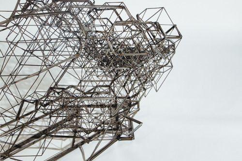 Spacestream by Daniel WidrigA steel chair designed with algorithms.