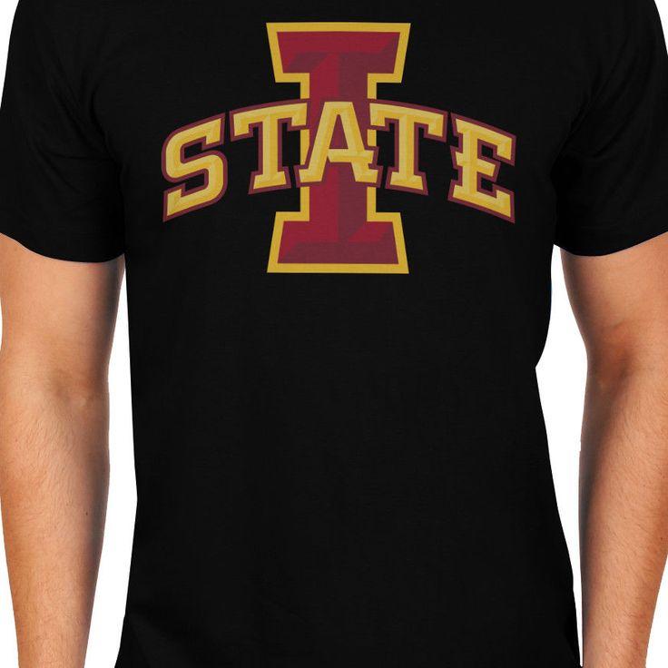 Iowa State Cyclon Football I State NFL Men T-Shirts, Ultra Cotton Size S-XXL #Gildan #BasicTee
