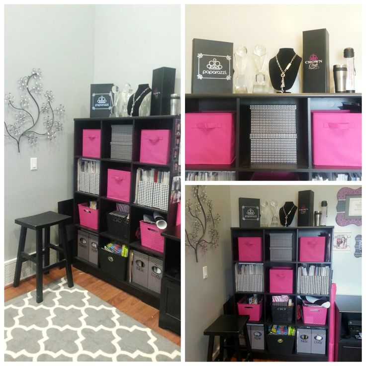 Paparazzi Office Decor Organization. Home Office. Organizing Shelves. Paparazzi Accessories. DebsJewelryShop.com
