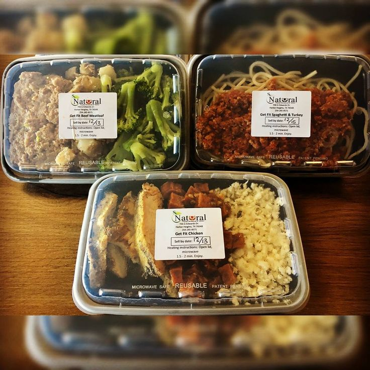 Start your New Year with convenient delicious Get Fit prepackaged meals. Order
