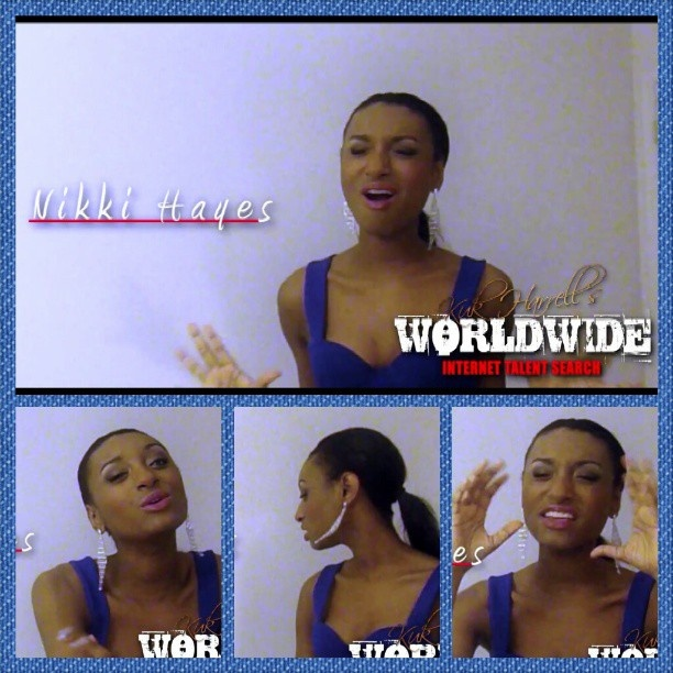 """VIEW, COMMENT, & LIKE Nikki Hayes' video submission for Kuk Harrell's """"Who's Next?"""" Worldwide Online Talent Search. Nikki Hayes covers ALL I WANT IS YOU by Miguel http://youtu.be/ynoxWAsJn-g"""