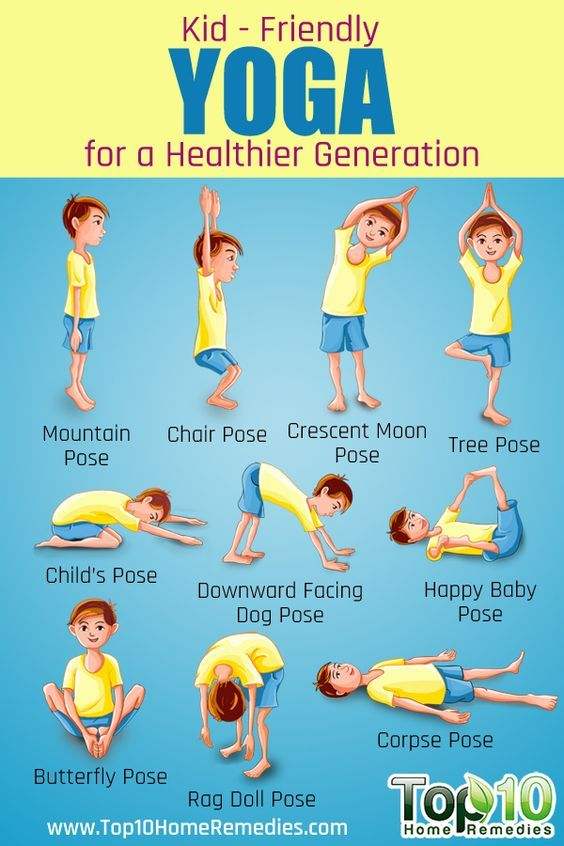 Yoga is a great way to get your child in action and show them that fitness is fun! Check out these 10 essential poses for kids Top 10 Home Remedies.