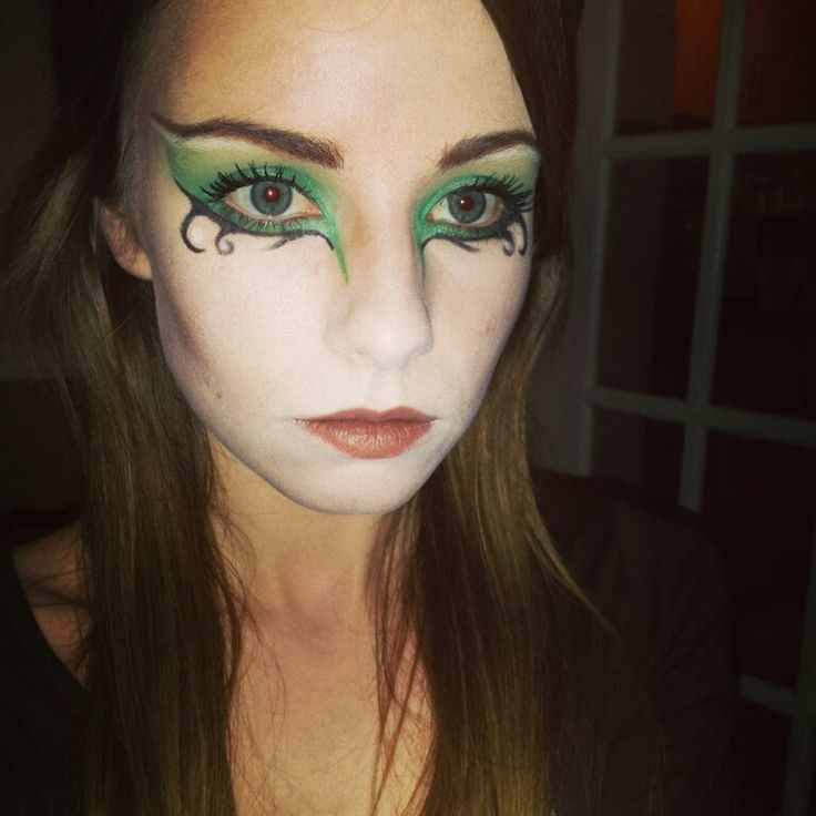 Elven makeup - my own #makeup #fantasy #elven