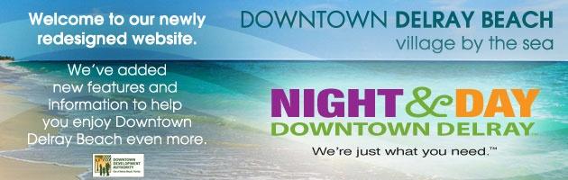 Downtown Delray Beach, Florida