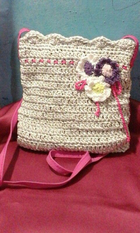 Sling bag crochet