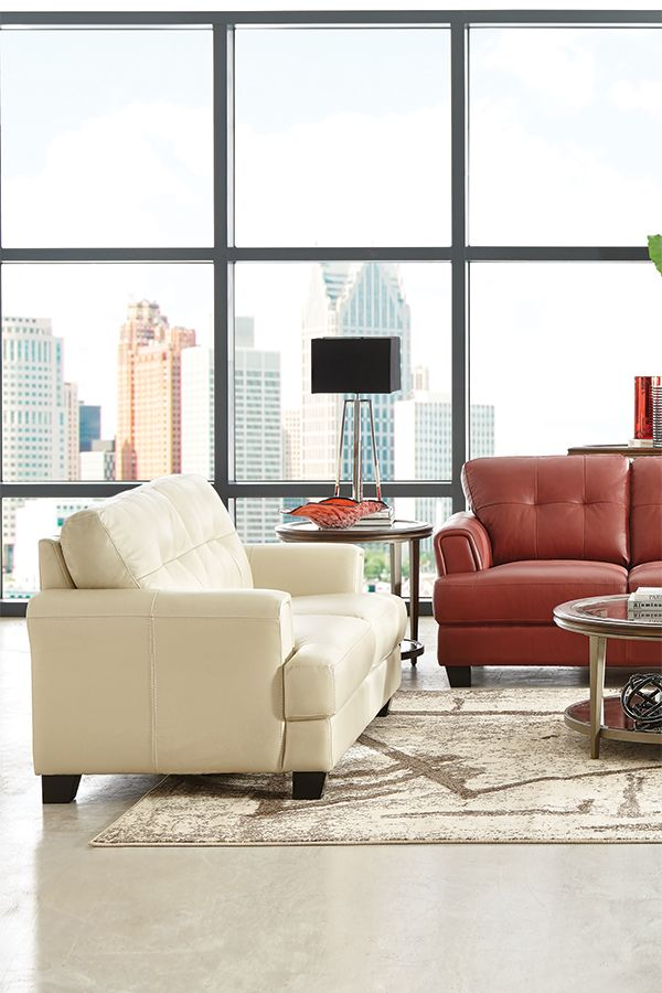 A loveseat creates ample room for one or the perfect spot for two  The  genuine  Art VanLiving  44 best ART VAN FURNITURE STORE images on Pinterest   Art van  . Art Van Living Room. Home Design Ideas