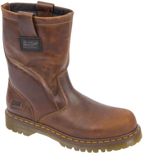 Dr. Martens Work Unisex 2296 Wellington NS Brown Boots UK 6 (US Men's 7, Women's 8) Medium Dr. Martens,http://www.amazon.com/dp/B007USF3VG/ref=cm_sw_r_pi_dp_H6b7sb1ZNZNC61MB