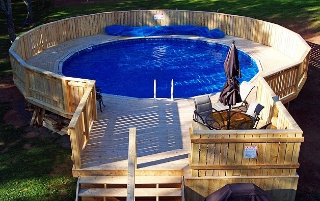 Above Ground Pool Deck Decked Out Pools Pinterest Pools Pool Decks And Read More