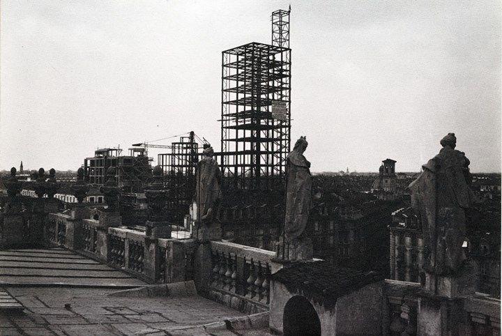 Costruzione Torre Littoria #Torino (#1933)