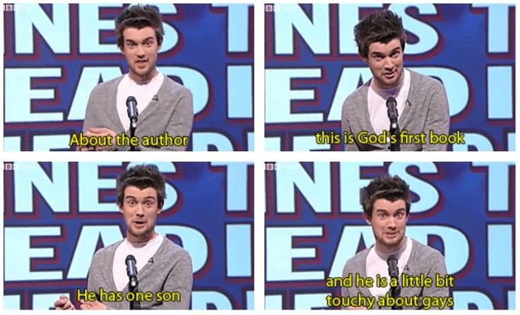 Unlikely things to read in the bible | Jack Whitehall | Mock the Week