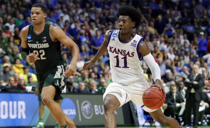 Rosen: Josh Jackson outshines Miles Bridges in Kansas' win over MSU = Based on Kansas' 90-70 drubbing of Michigan State, here's a scouting report of MSU's Miles Bridges and KU's Josh Jackson, two players projected to go in the lottery of the 2017 NBA Draft…..