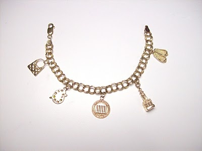 my college of charleston charm bracelet history on a