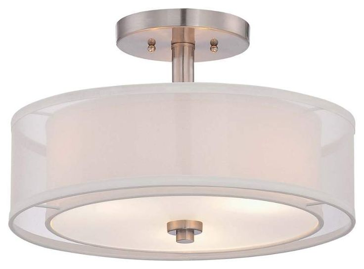109 90 view the minka lavery 4107 3 light semi flush ceiling fixture from the parsons