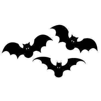 The  Best Bat Silhouette Ideas On   Bat Craft Bat