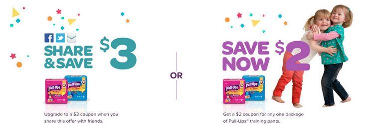 $3 off 1 Pull Ups Coupon #ad #pullupsbigkiddeal