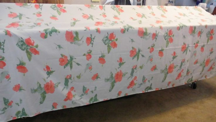 Sheet by Halston Twin Size floral Bed Sheet Vintage Twin Flat Cotton Sheet Floral Fabric by flyingdollar on Etsy