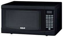 Curtis - 0.7 Cu. Ft. Compact Microwave - Black