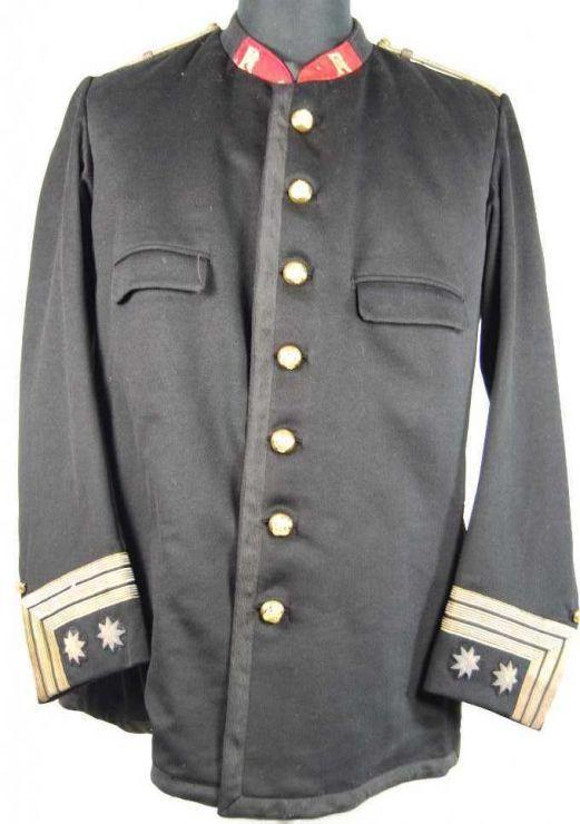 España 1884-907 Teniente Coronel. 62º Infantería de línea