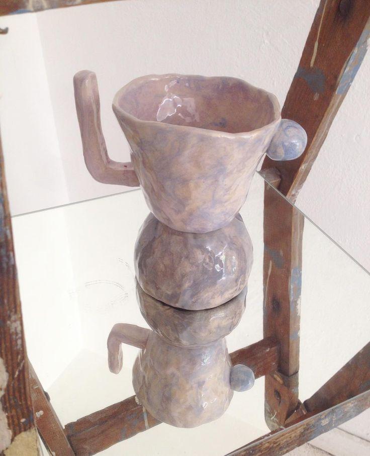rebu ceramics  #rebuceramics #ceramics #ceramic #ceramicsculptur #keramik #pottery  #mug  #cup #ceramicmug #engobe