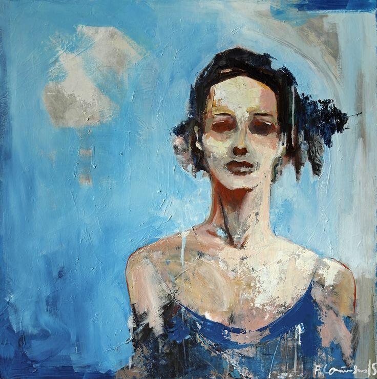 Painted by Frode Lauvsnes. #art #figurative #portrait #figure