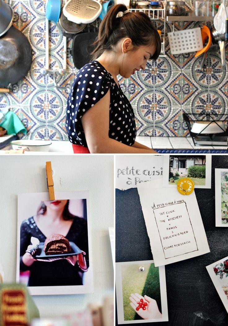 make a lunch booking chez la petite cuisine de Rachel Koo #Paris (photos by griottes blog)