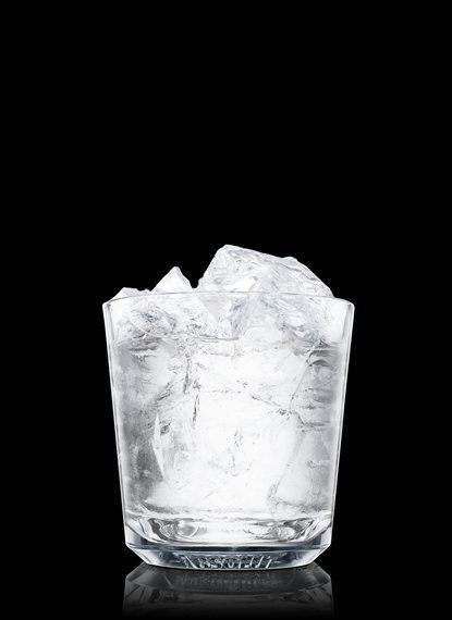 Absolut Black Diamond - Fill a rocks glass with ice cubes. Add Absolut 100. 1 Part Absolut 100